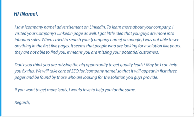 how to write business email sample