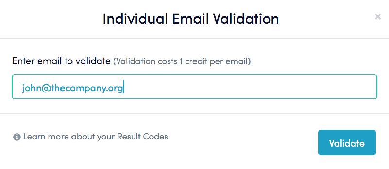 individual-email-validation